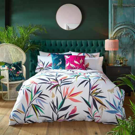 Bamboo Super King Duvet Cover and Pillowcase Set