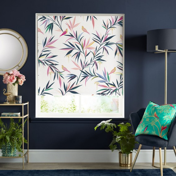 White Bamboo Readymade Roller Blind Collection