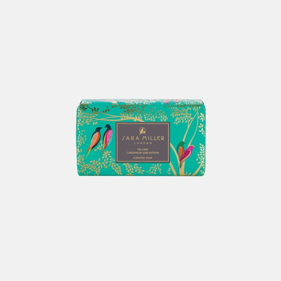 Green Birds Scented Soap