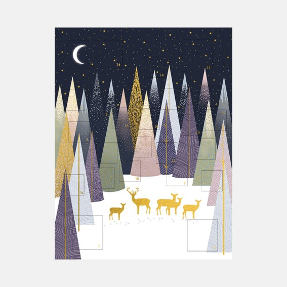 Frosted Pines Advent Calendar