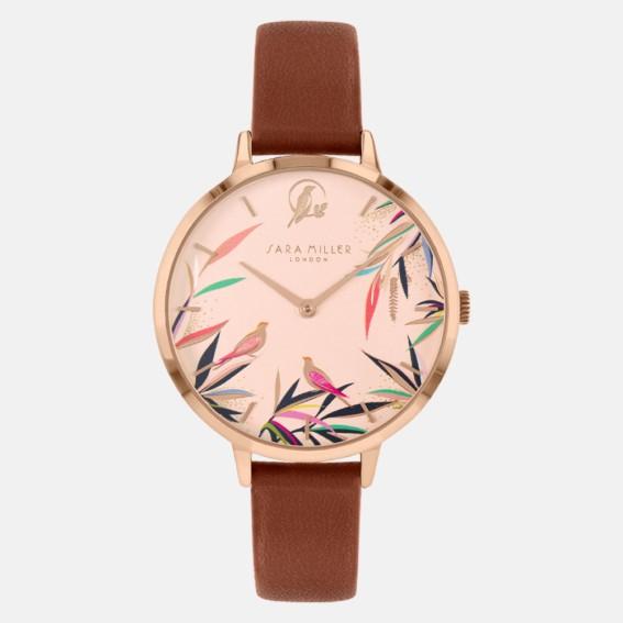 Bamboo Tan Watch