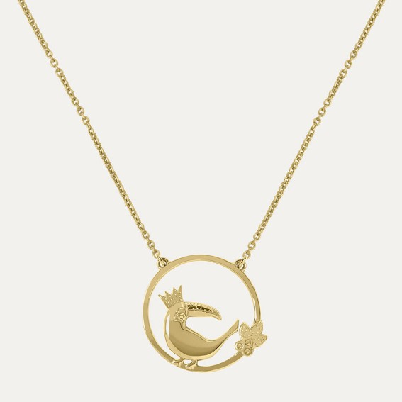 Toucan Gold Necklace