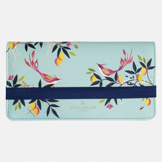 Duck Egg Orchard Birds Travel Wallet