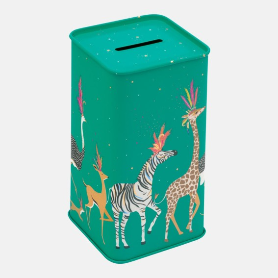 Animal Parade Tall Money Box
