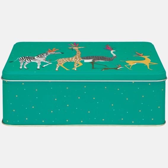 Animal Parade Extra Large Rectangular Tin