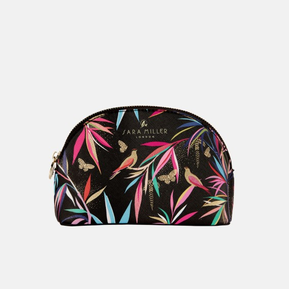 Black Bamboo Small Cosmetic Bag