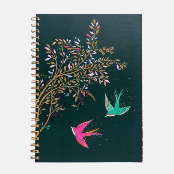 Swallows A4 Notebook