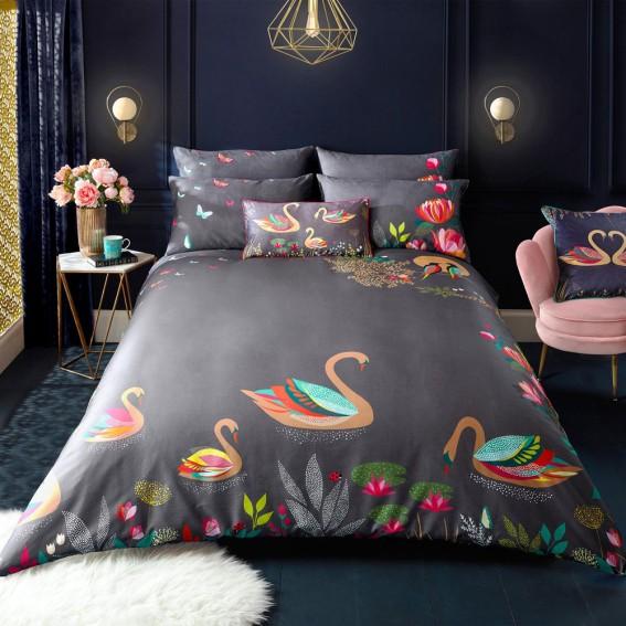 Swan Standard Pillowcase Pair