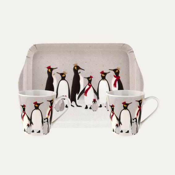 Penguin Tray & Mug Set