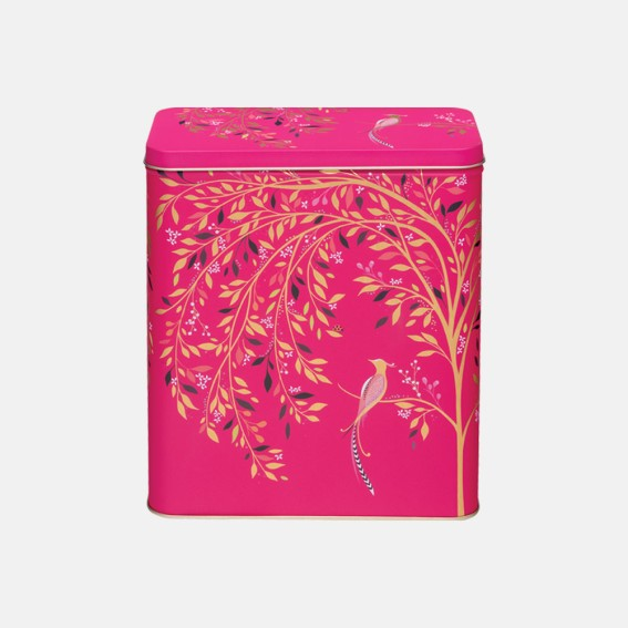 Pink Songbird Larder Tin