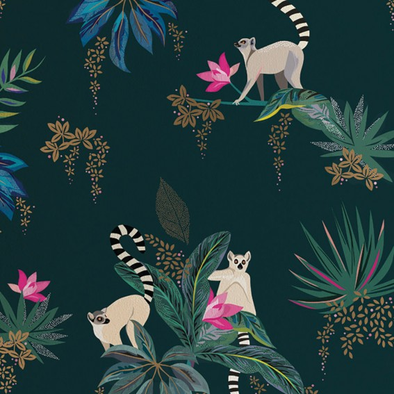 Lemur Wallpaper SAMPLE