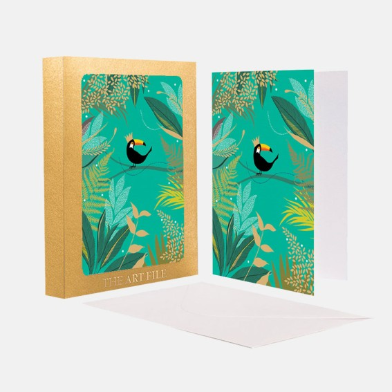 Toucan Notecard  - Set of 10 Cards