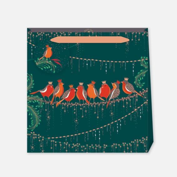 Rows of Robins Medium Gift Bag
