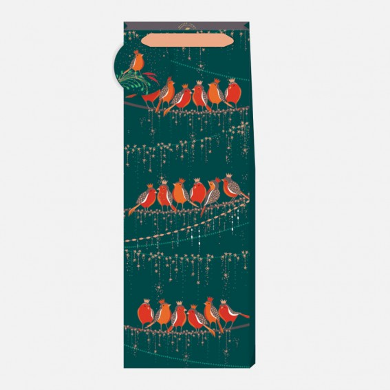 Rows of Robins Bottle Bag