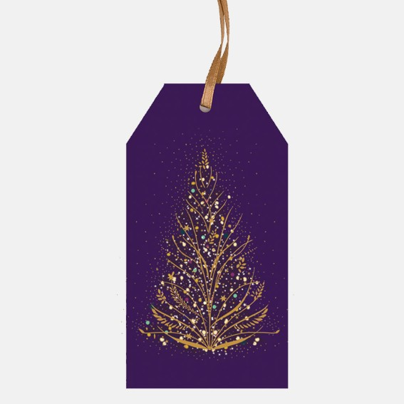 Christmas Tree Pack of 6 Tags