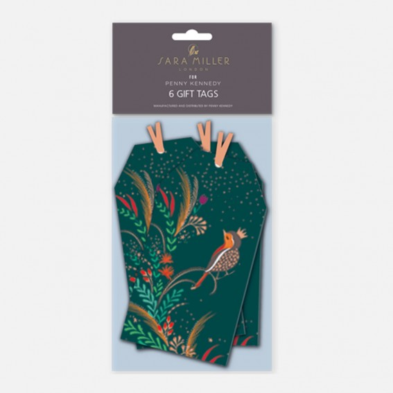 Robins Gift Tags - Pack of 6
