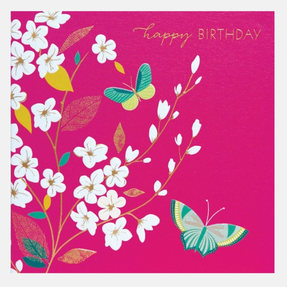 Happy Birthday Blossom Card