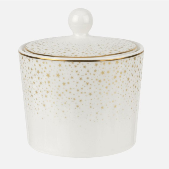 Celestial Covered Sugar Pot