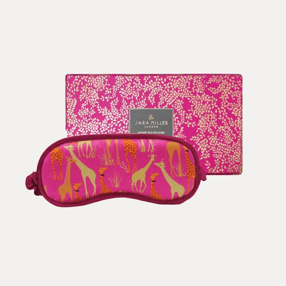 Giraffe Silk Eye Mask