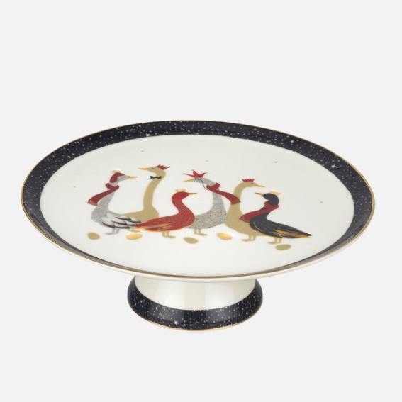 Geese Cake Stand