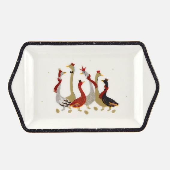 Geese Dessert Dish