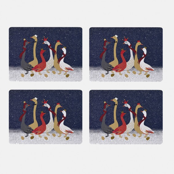 Geese Placemats - Set of 4