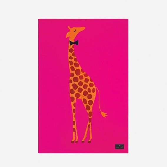 Giraffe Placement Tea Towel