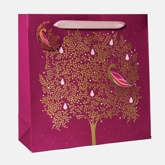 Partridge in a Pear Tree Large Gift Bag