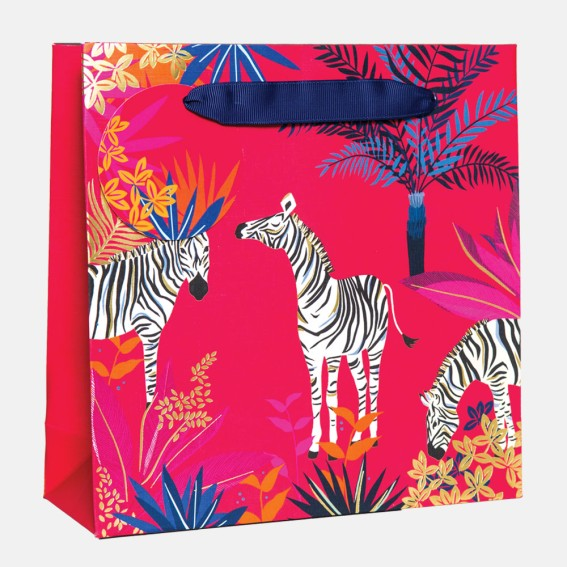 Zebra Medium Gift Bag