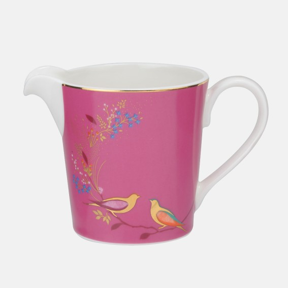 Pink Birds Cream Jug