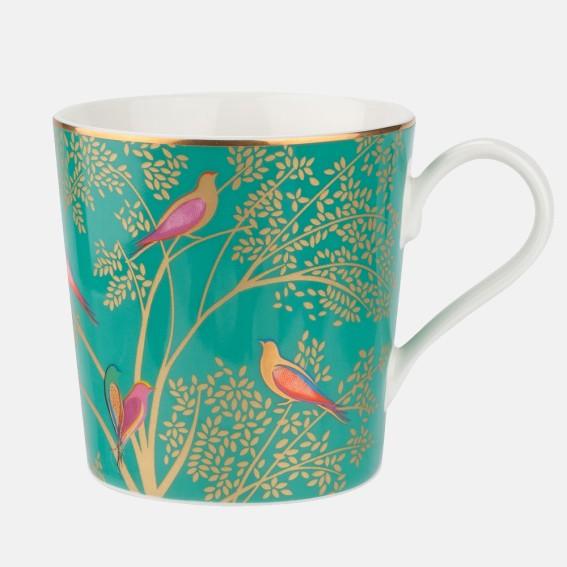 Green Birds Mug