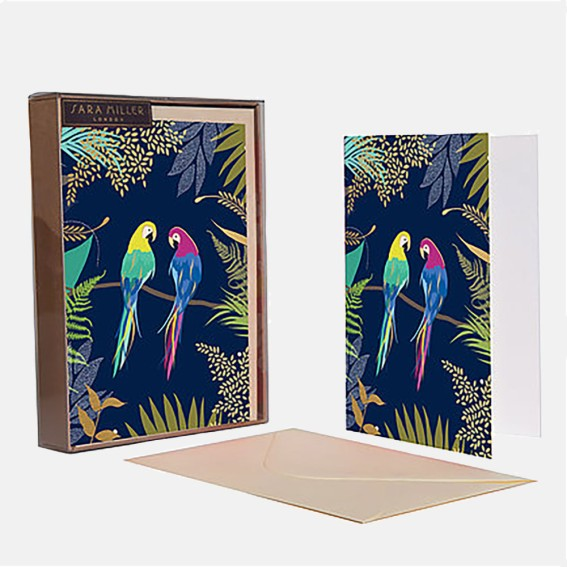 Parrot Notecard  - Set of 10 Cards