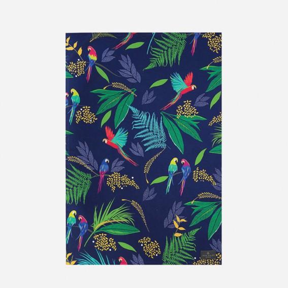 Parrot Repeat Tea Towel