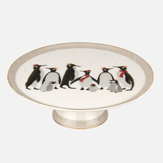 Penguin Cake Stand