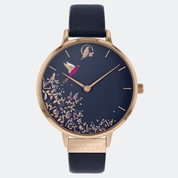 Navy Hummingbird Watch