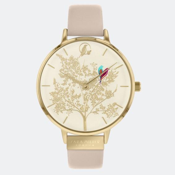 Lovebirds Cream Watch