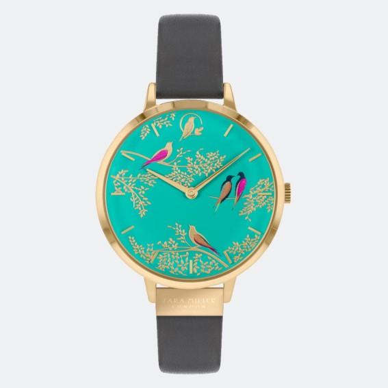 Green Birds Grey Watch