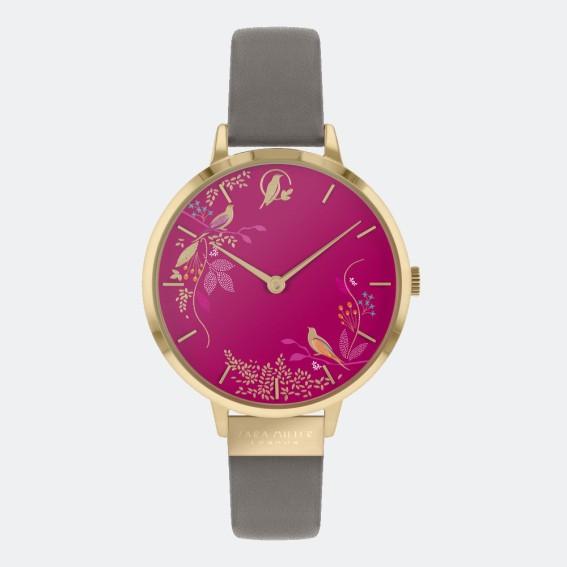 Pink Birds Grey Watch