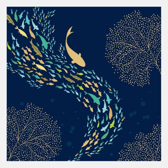 Fish Shoal Card