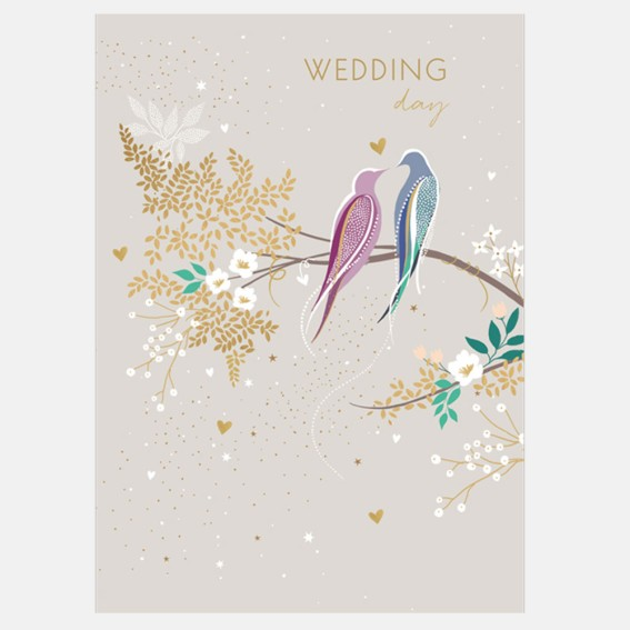 Wedding Birds Card
