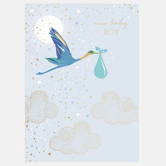 Cards, greeting cards, gift, luxury greeting card, new baby, baby card, congratulations, celebratory card, baby boy,