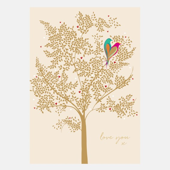 Love Nest Valentine Card