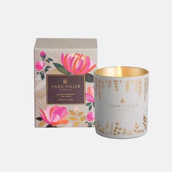 Jasmine, Lemongrass & Ginger Candle