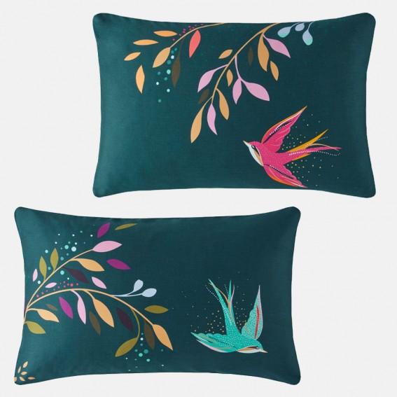 Dancing Swallows Standard Pillowcase Pair