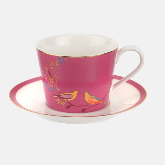 Pink Birds Teacup