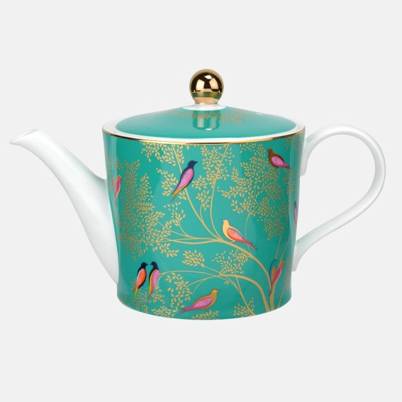 Green Birds Teapot