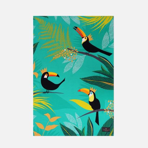 Toucan Placement Tea Towel