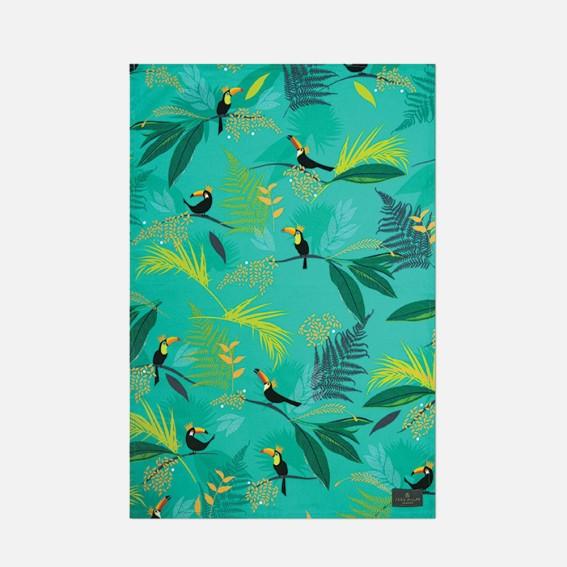 Toucan Repeat Tea Towel