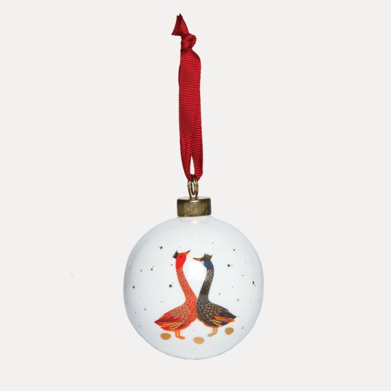 Geese Bauble