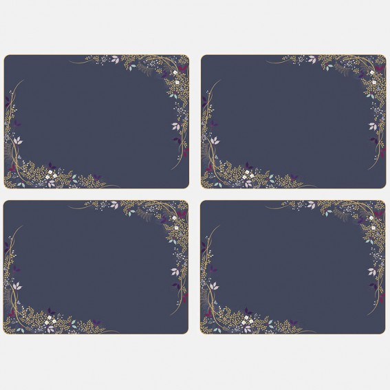Winter Foliage Large Placemats - Set of 4